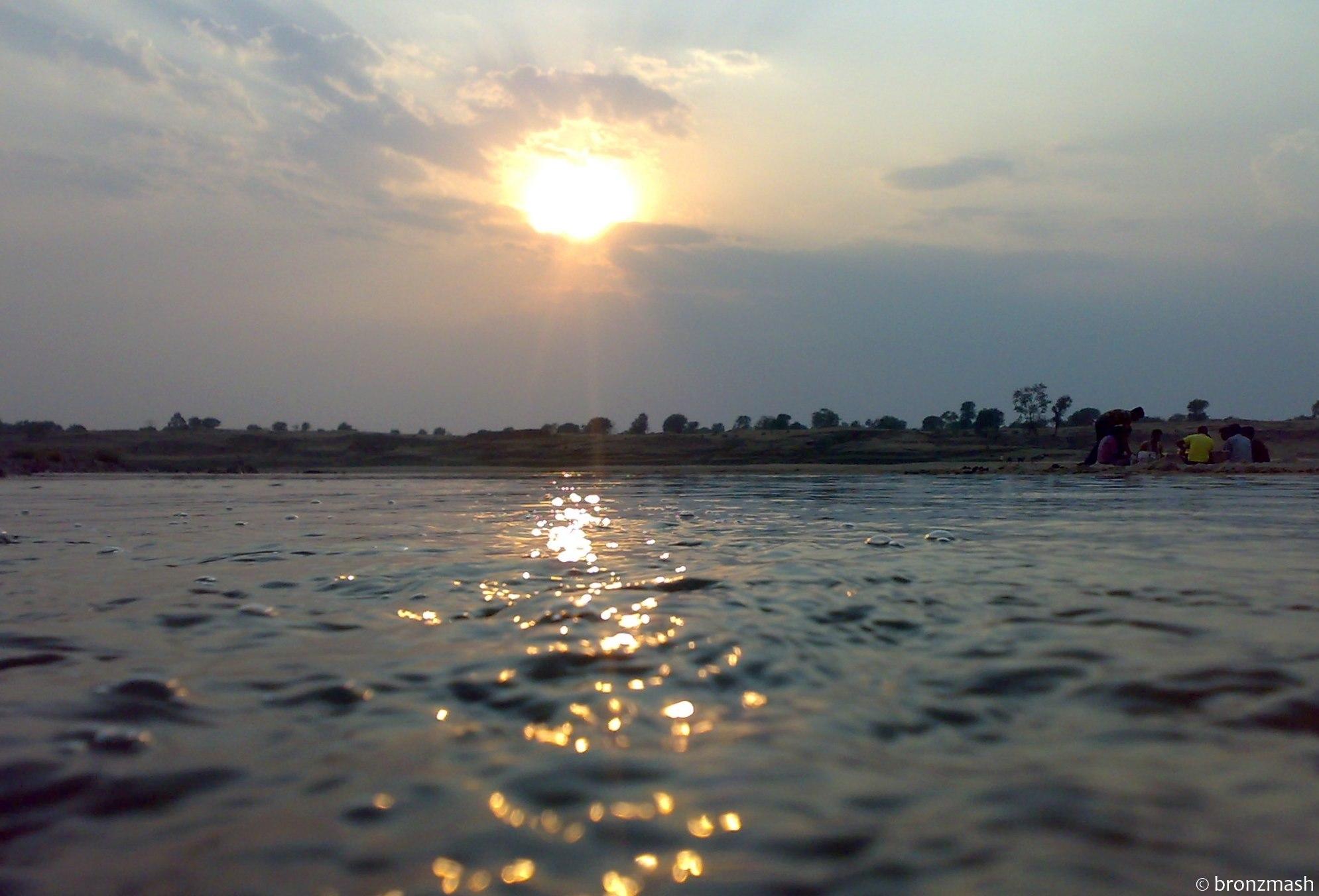Kati river on the dusk of Holi | NCBS news