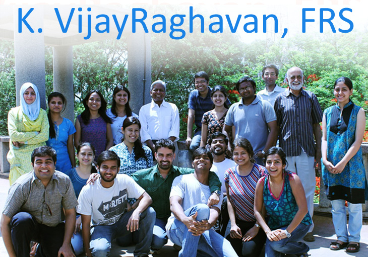 VijayRaghavan has been appointed as Principal Scientific Adviser