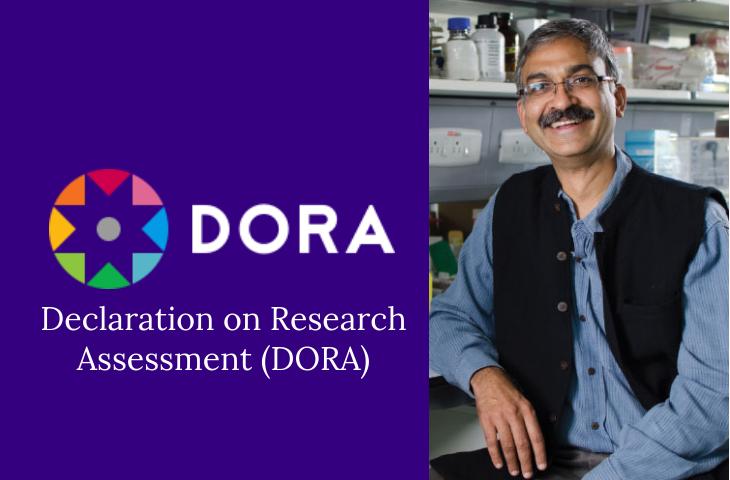 Prof Mayor signs on as advisory member of DORA