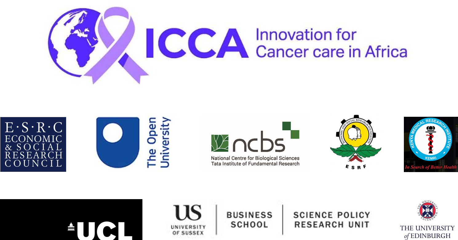 Announcing the Innovation for Cancer Care in Africa project at NCBS