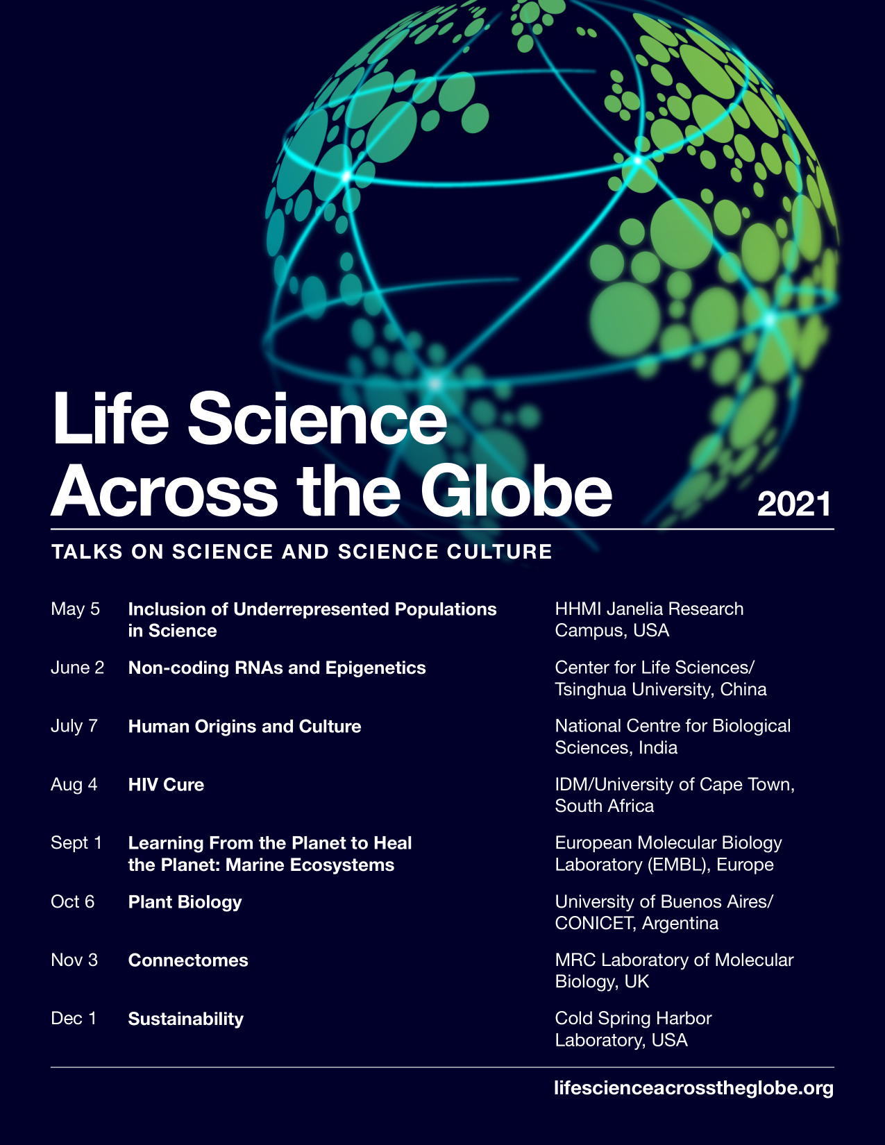 Life Science Across the Globe returns!