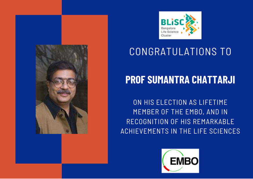 Professor Sumantra Chattarji elected a lifetime member of the EMBO