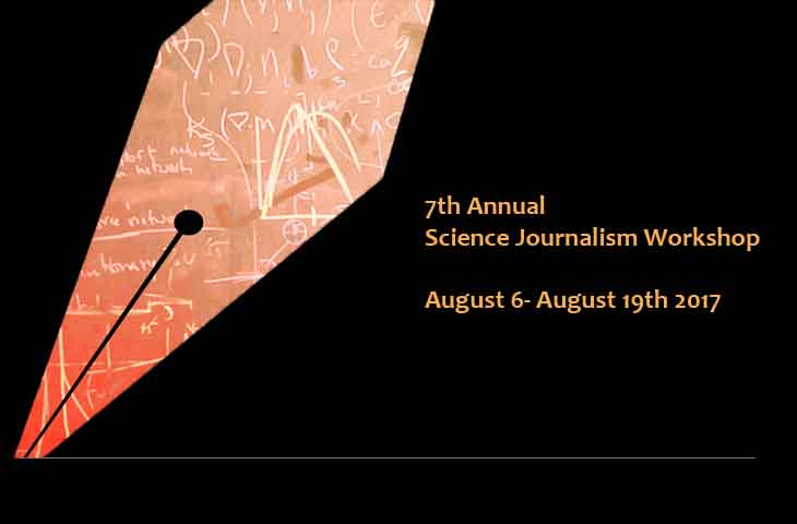 7th Annual Science Journalism Workshop