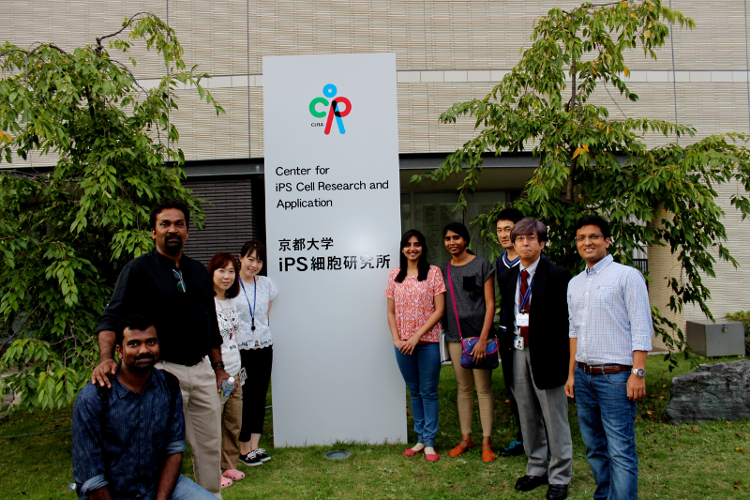 Early career Indian researchers attend special training program in iPS cell technology at Centre for iPS Cell Research and Application (CiRA), Japan